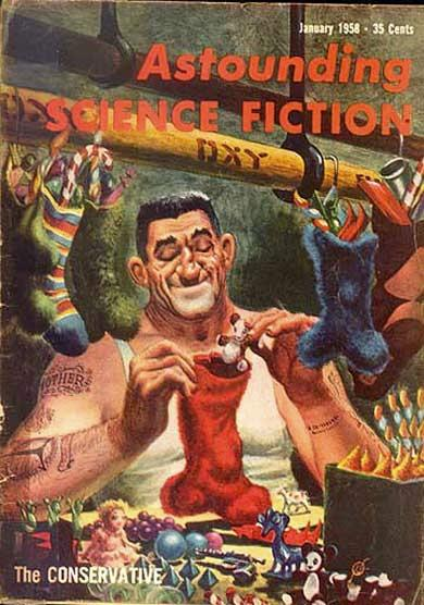 Časopis Astounding science fiction (január 1958)